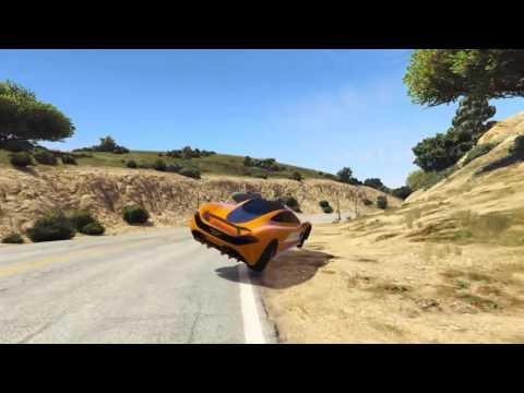 Super Nature Walls - GTA5 Online Stunt Race