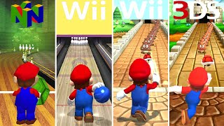 Evolution of Bowling Minigames in Mario Party (1998-2018)