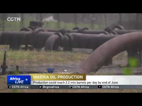 Oil production in Nigeria could reach 2.2 mln barrels per day by end of June