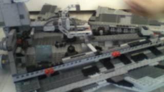 Обзор на LEGO Звёздный разрушитель/артикул 75055