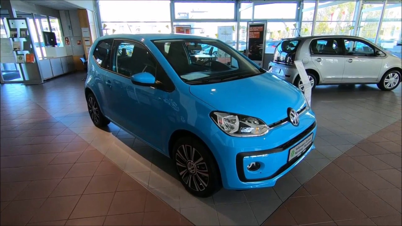volkswagen vw up sound 2 door teal blue colour. Black Bedroom Furniture Sets. Home Design Ideas