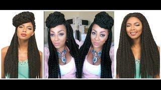 LETS MAKE IT LOOK NATURAL Sensationnel Senegal Rumba Twist Wig sistawigs.com