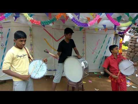 Tamil Drums set