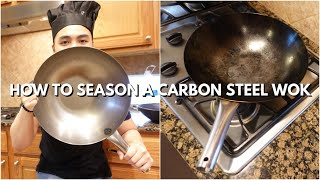 How to Season a Carbon Steel Wok/Pan