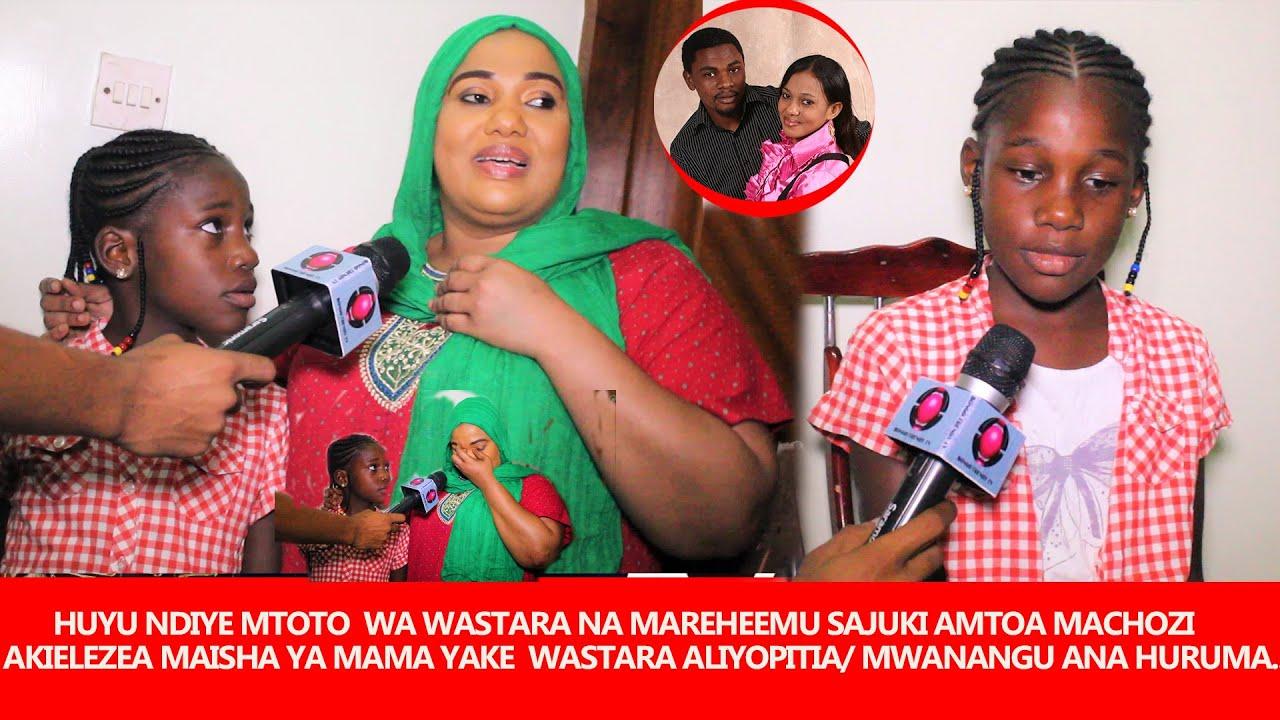 Download HUYU NDIYE MTOTO WA WASTARA NA MAREHEMU SAJUKI AMTOA MACHOZI AKIELEZEA MAISHA MAMA YAKE ALIYOPITIA..