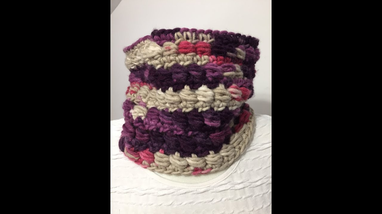 Tuto Snood Au Crochet