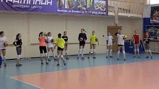 Волейбол обучение. Девушки. Тренировка между играми  Полная версия