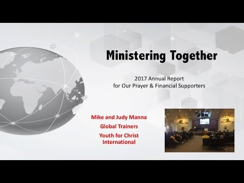 Manna Family 2017 Ministry Report