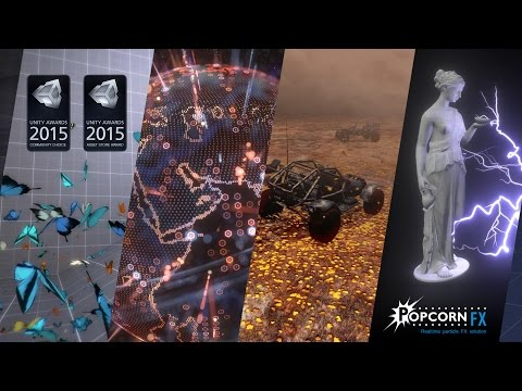 PopcornFX Particle Effects Plugin for Unity - YouTube