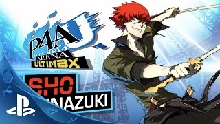 Persona 4 Arena Ultimax: Sho Trailer | PS3
