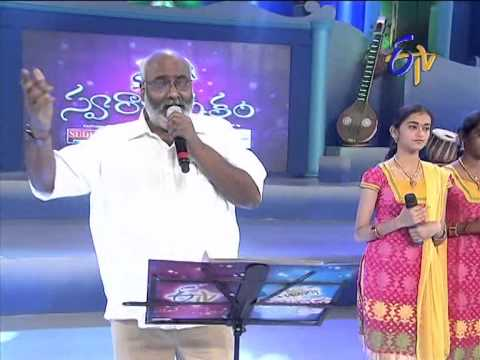 Swarabhishekam - Keeravani Performance - Ekkado Putti Ekkado Perigi Song - 10th August 2014