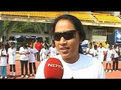 Marks for Sports: Ashwini Nachappa trains budding athletes
