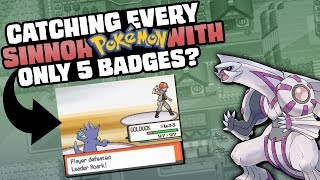 HOW EASILY CAN YOU COMPLETE PROFESSOR OAK'S CHALLENGE IN POKEMON DIAMOND/PEARL?