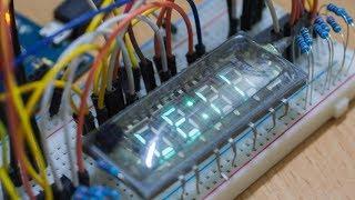 Подключение вакуумно-люминесцентного индикатора к Arduino