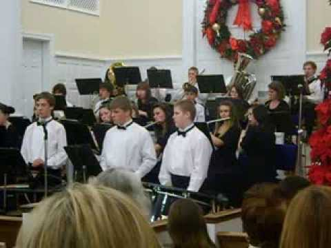 Swain County High School Concert Band First Baptist 12-1-13 Part 2