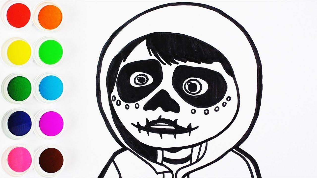 Aprende Colores Para Niños Dibujar Y Colorear Coco Dibujos Para Niños Learn Colors Funkeep