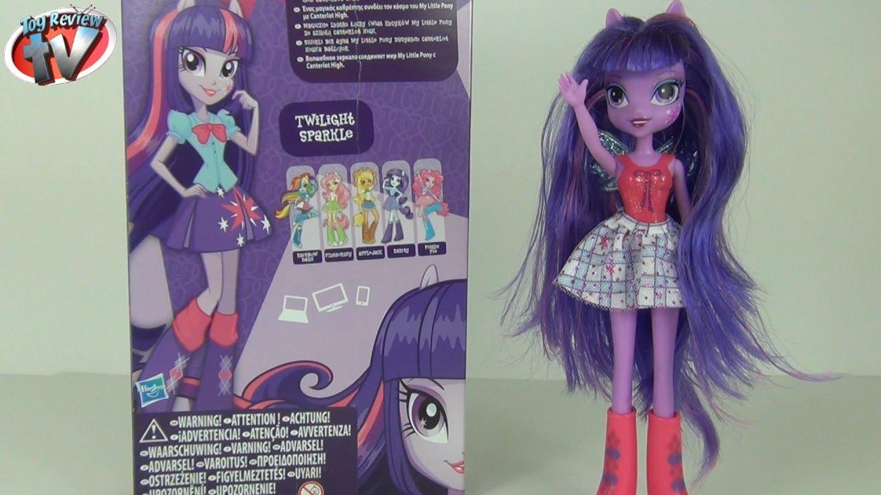TWILIGHT SPARKLE My Little Pony Equestria Girls NEW Toy Doll Hasbro