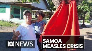 Door-to-door vaccination drive in Samoa after 62 measles-related deaths | ABC News
