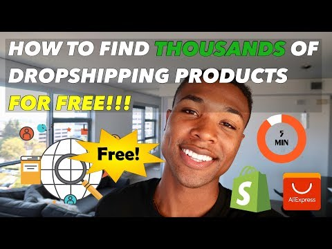 How to Find THOUSANDS of Top Shopify Dropshipping Products FOR FREE in less than 5 minutes! thumbnail