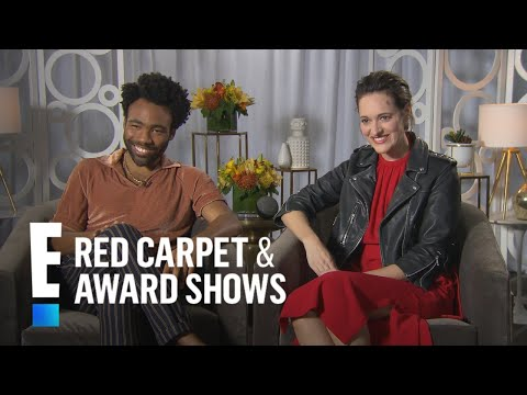 Donald Glover Talks Being Competitive With Alden Ehrenreich  E! Live from the Red Carpet