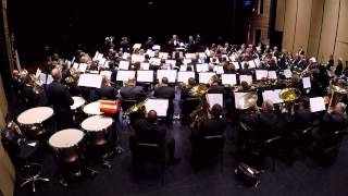 Boston Brass with Austin Symphonic Band Performing Tangents by John Wasson