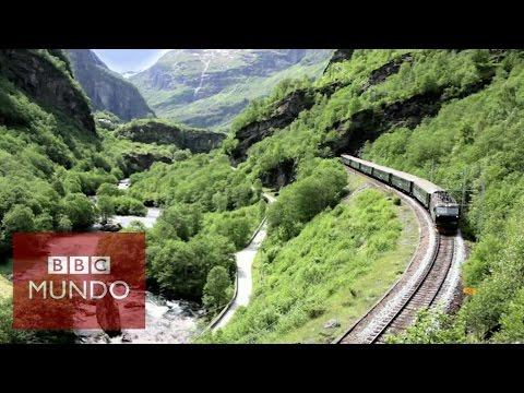 Flam: ¿el viaje en tren más hermoso del mundo? - BBC Mundo