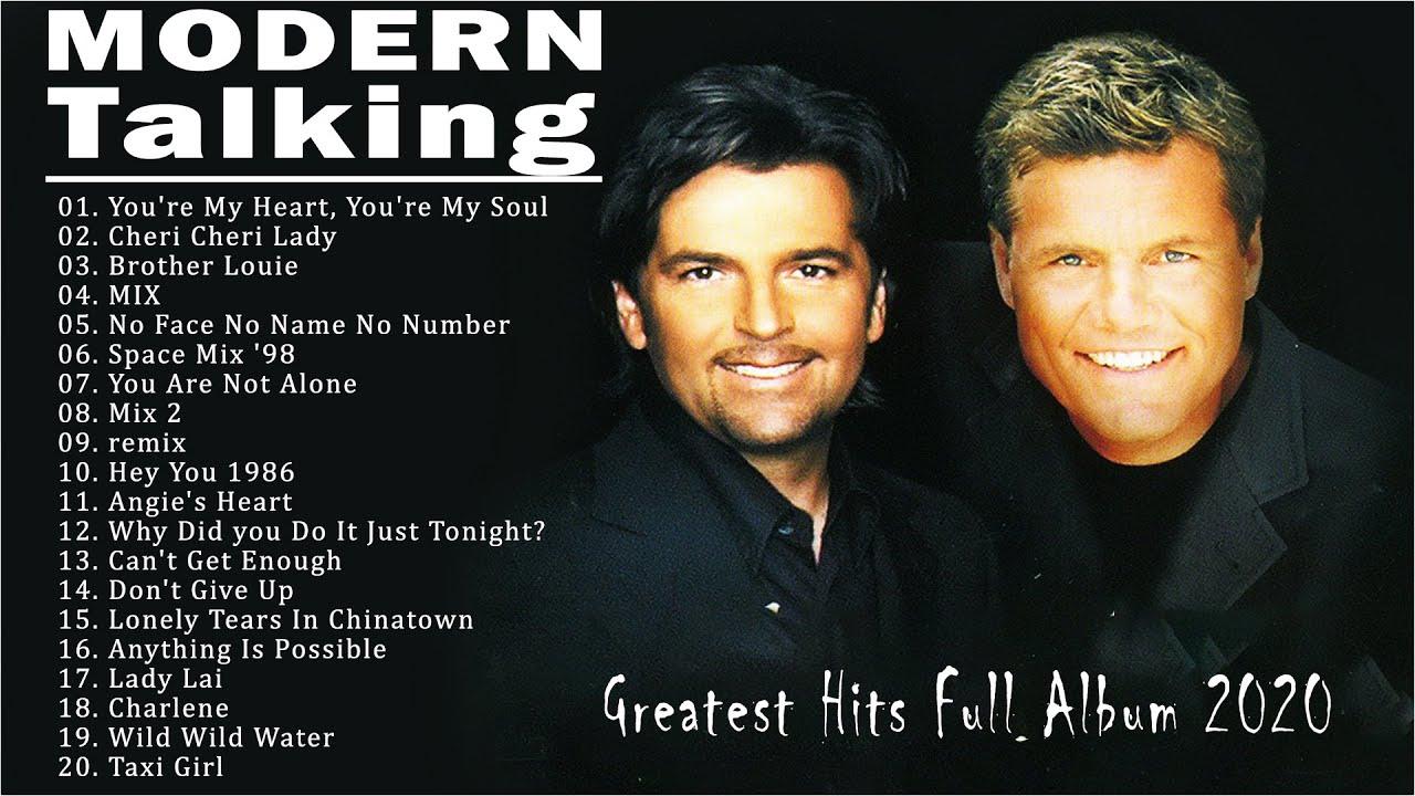 Modern Talking Greatest Hits Full Album Live - Best Of Modern Talking -  YouTube