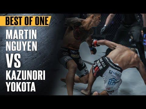 Martin Nguyen vs. Kazunori Yokota – Best Of ONE Championship