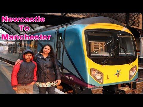 Newcastle To Manchester Train Journey Vlog I My Kitchen Food