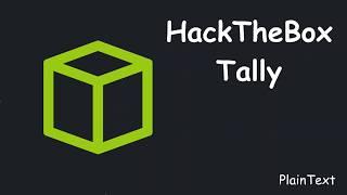 HackTheBox - Tally (Español)
