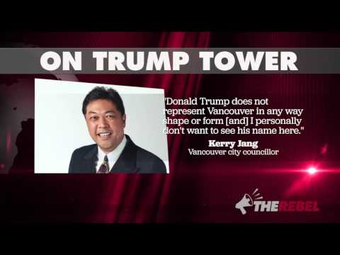 Hypocritical Vancouver politician liked Trump's name on donation cheque