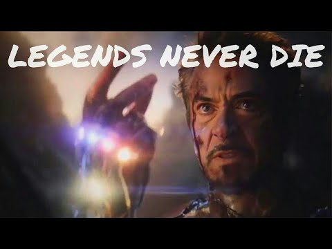 TRIBUTE TO IRONMAN - TONY STARK | LEGENDS NEVER DIE