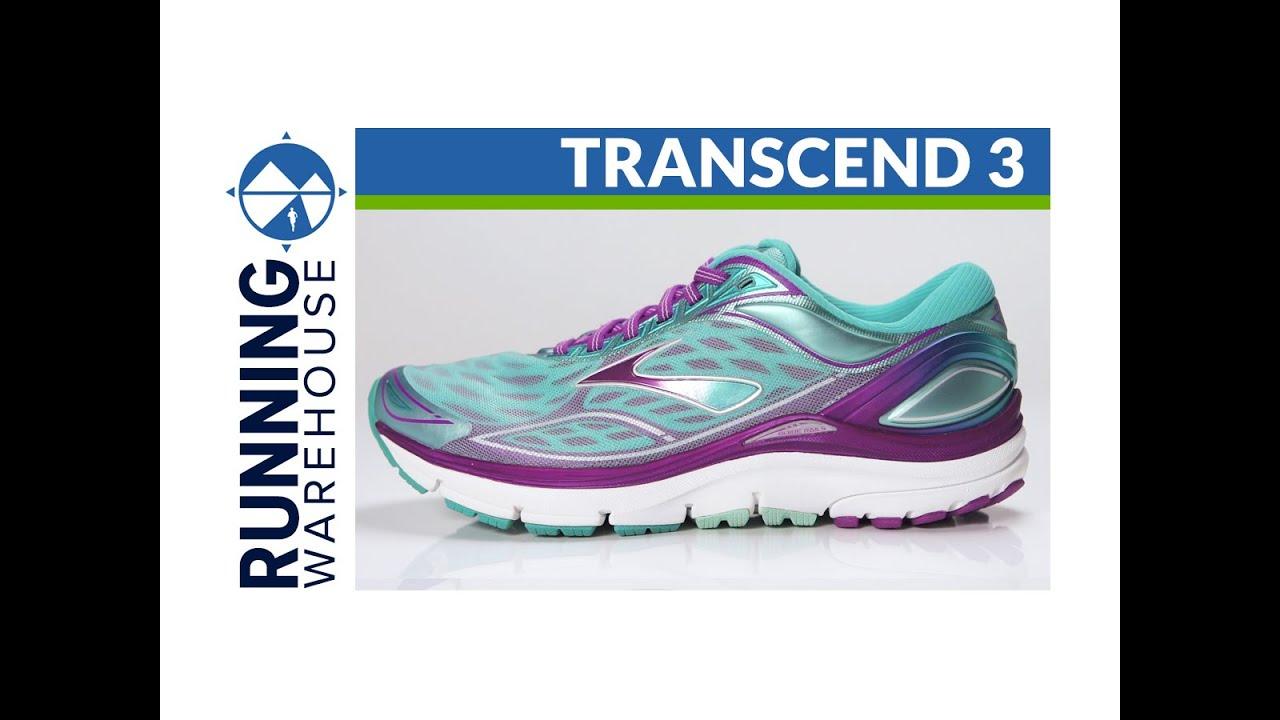 Brooks Transcend 3 for women. Running Warehouse