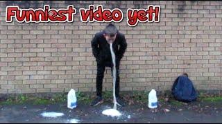 Milk Challenge (Ft Disgusting Vomit)