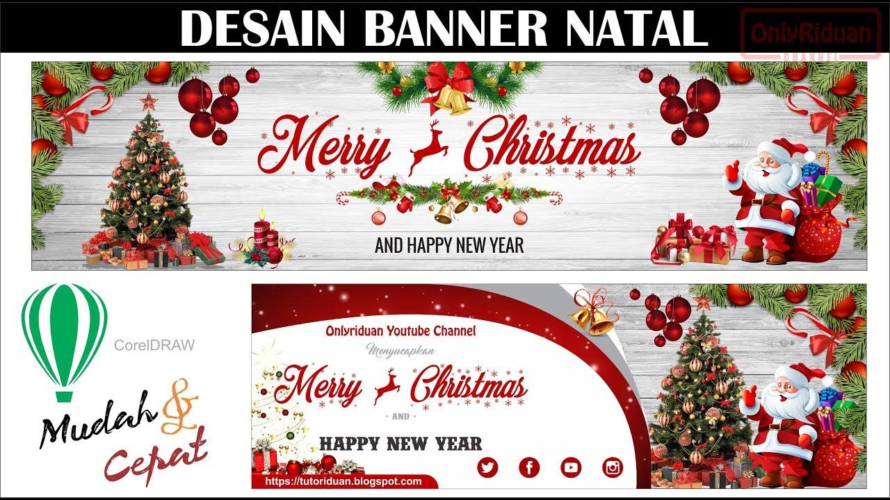 Desain Spanduk Natal Cdr   Kumpulan Gambar Bagus