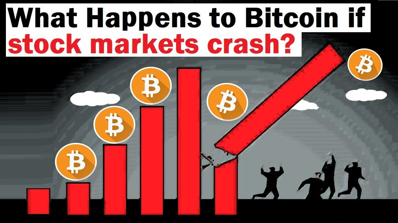 What Happens To Bitcoin If Stock Markets Crash Into A Bear Market Youtube