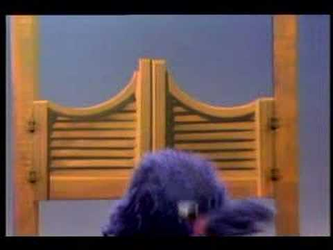 Sesame Street (Vintage) - Grover Around