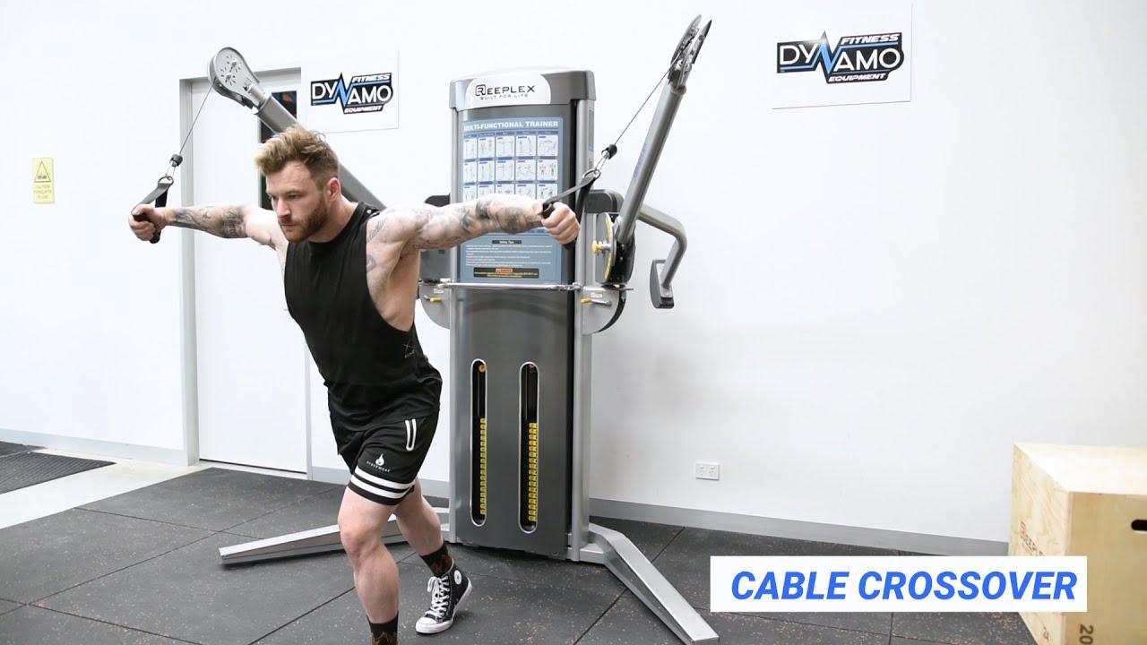 Multi Functional Trainer Reeplex Pro Strength Exercise
