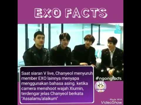 Chanyeol mengucapkan asalamuaikum