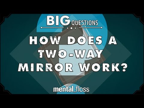 How does a two-way mirror work? - Big Questions - (Ep. 24)