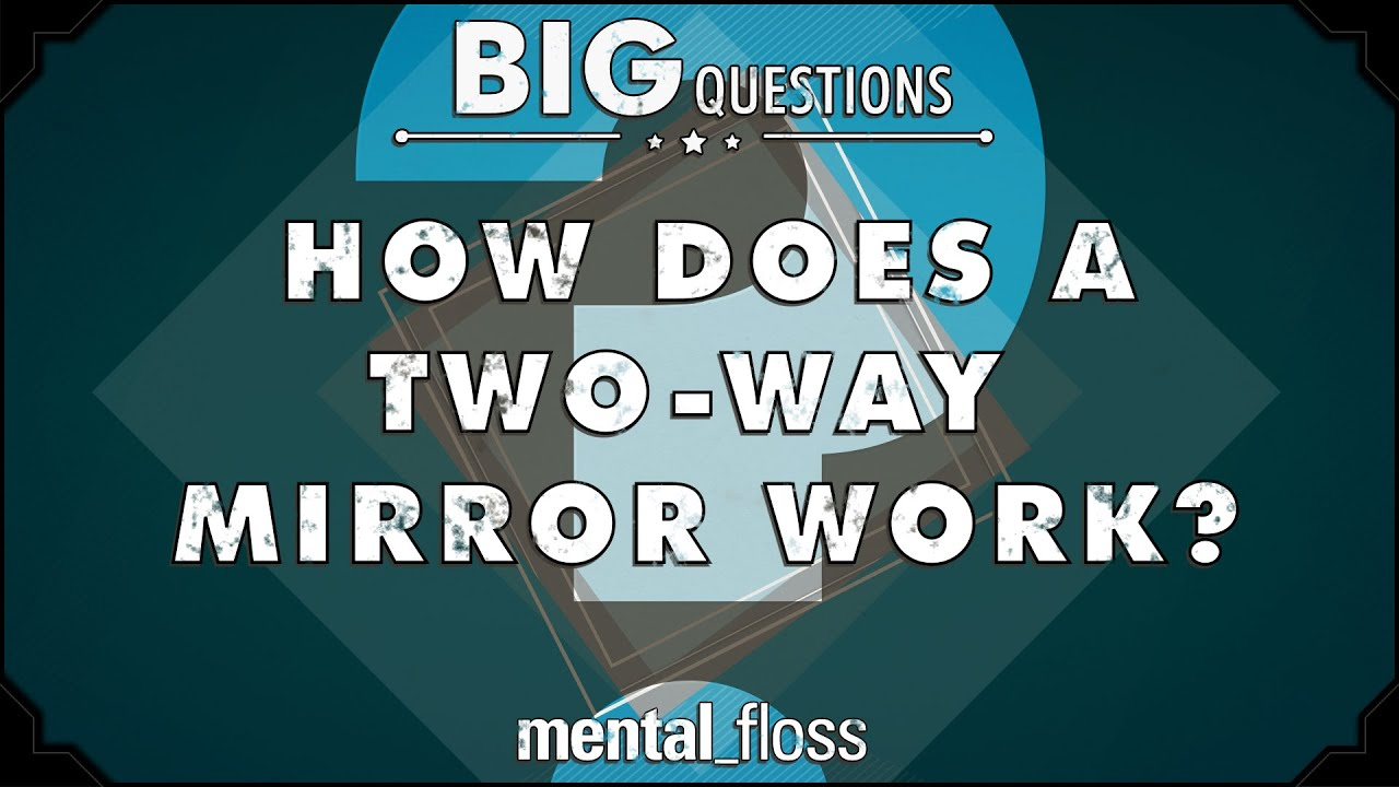 How Does A Two Way Mirror Work Big Questions Ep 24