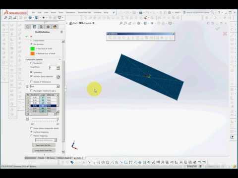 SolidWorks CAE 6  Composite Materials