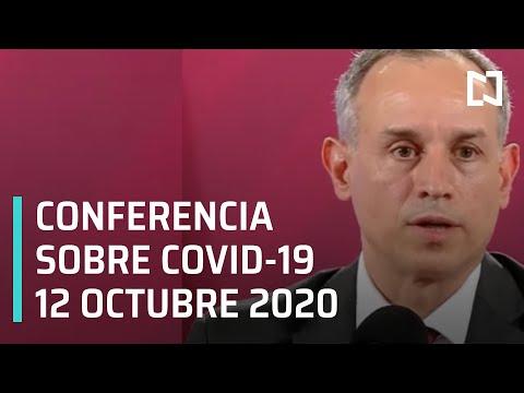 Conferencia Covid-19 en México - 12 octubre 2020