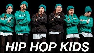 Дети Хип Хоп 7- 9 лет | Отчётный Концерт Good Foot 2016