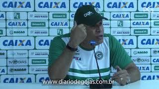 Hélio dos Anjos comenta a vitória do Goiás contra Juventude