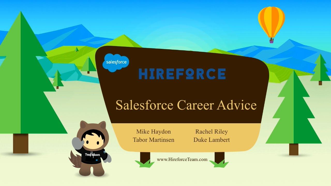 Salesforce Career Advice