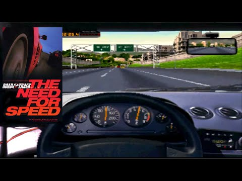 4DO Emulator (3DO) - NEED FOR SPEED ROAD TRACK - GT 740M