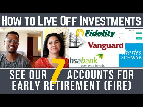 How to Live Off Investments & Retire Early | Our Seven Account Strategy for Financial Independen