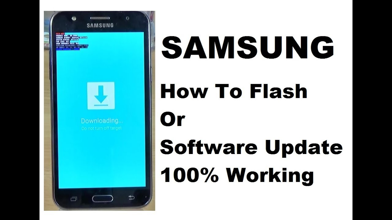 Samsung J7 How To Flash Or Software Update