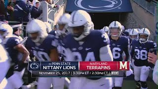 Week 13 Football Previews: Penn State at Maryland